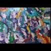 thumbnail Purple Jungle Painting - Energy Oil Paintings - eop -
