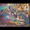 thumbnail Red and Sleeping Painting - Energy Oil Paintings - eop -